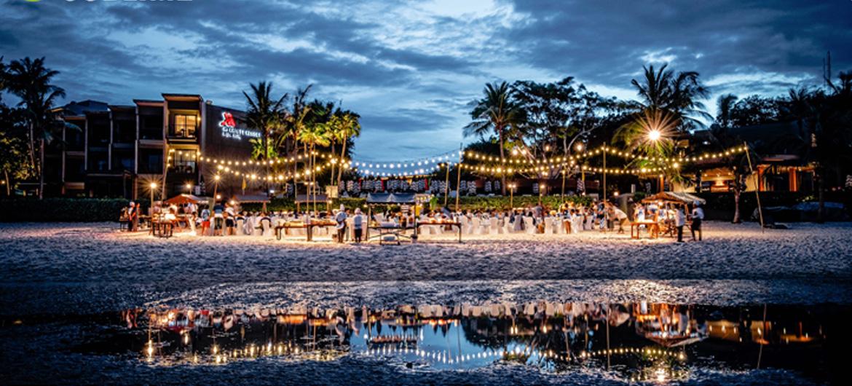 Festival op de bodem van de zee