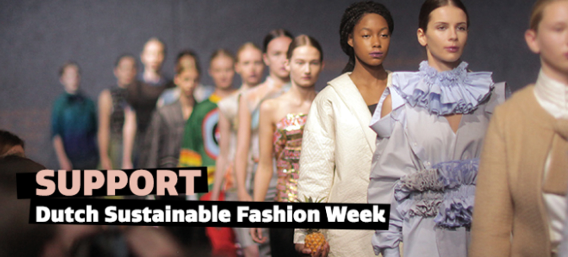 Crowdfunding Dutch Sustainable Fashion Week