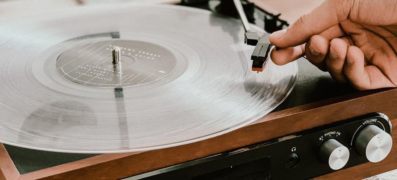 Aretha Franklin op gekleurd vinyl