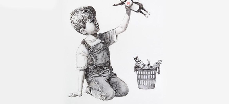 Banksy slaat weer toe… in ziekenhuis