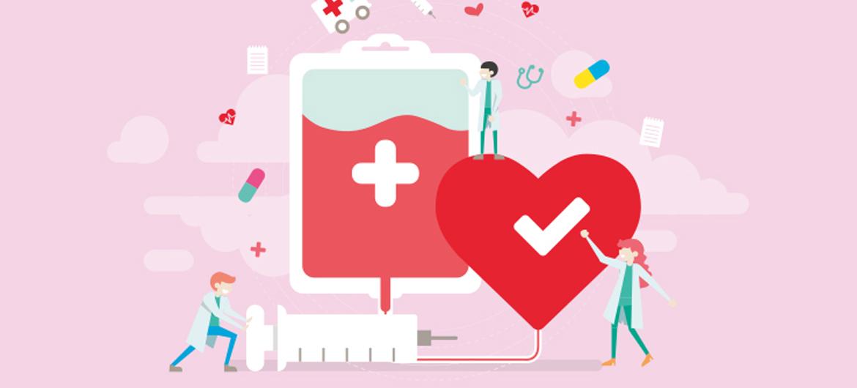 Goed nieuws over bloed doneren