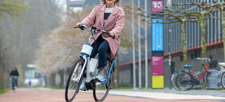 Met Gazelle fiets val je nooit meer