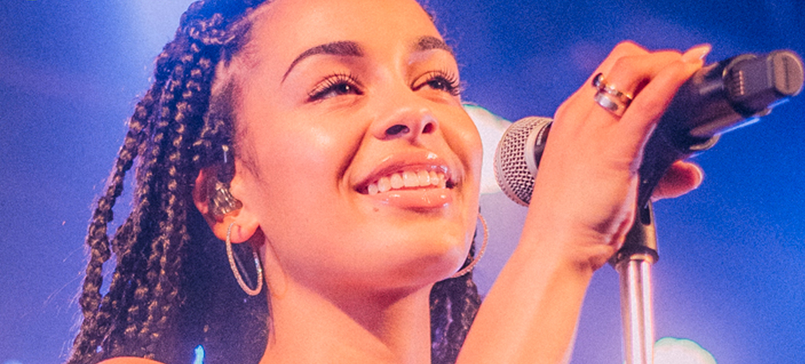 Jorja Smith op North Sea Jazz
