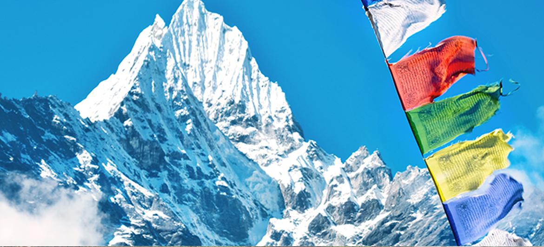 Afval verzameld op Mount Everest