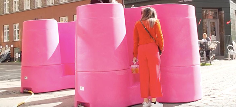 Urinoirs voor vrouwen