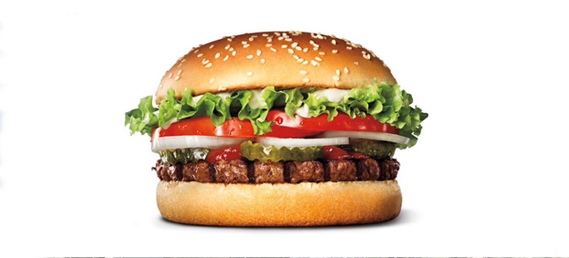 Plantaardige Whopper Burger King