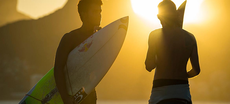 Surfen verkleint kloof tussen arm en rijk