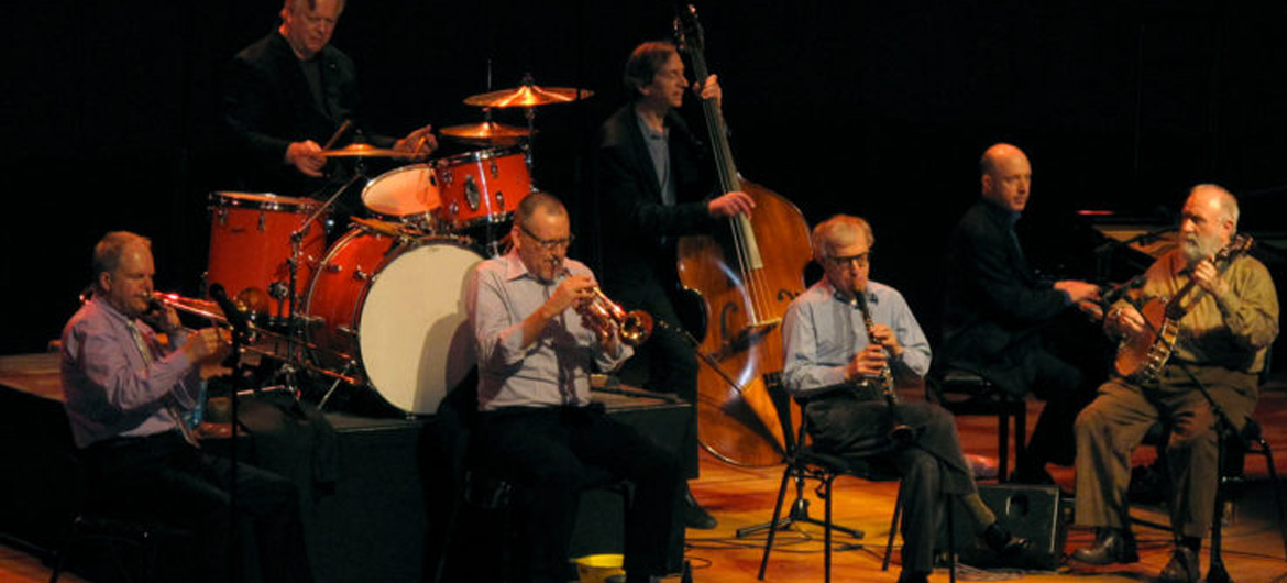 Woody Allen & jazzband in Carré
