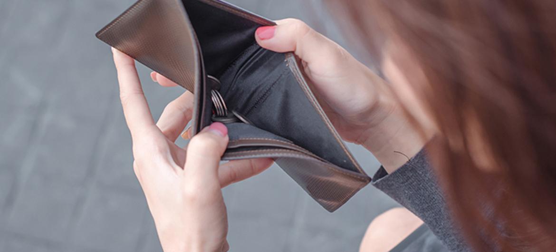 Genoeg geld voor boodschappen