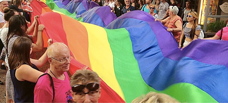 Eerste Gaypride was rampzalig