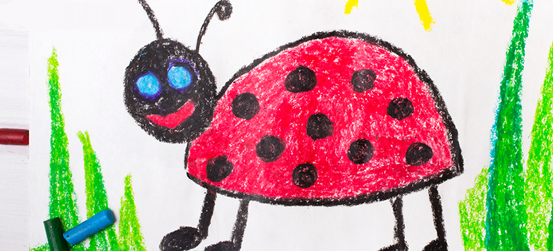 Lieveheersbeestje en afstandsbediening