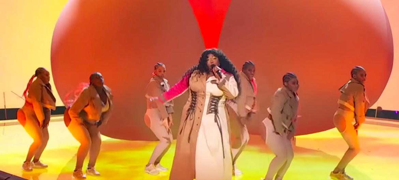 Optreden van Lizzo tijdens de VMA's