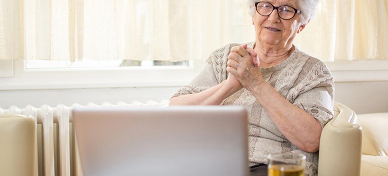 Finse thuiszorg lanceert online lunchgroep voor ouderen