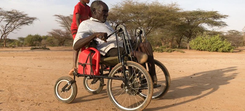Zelfstandig op pad met off road-rolstoel