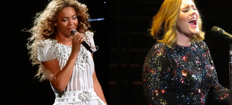 Beyoncé en Adele toch niet samen
