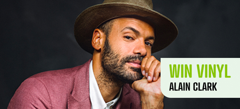 Win vinyl album van Alain Clark!