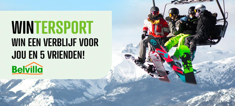 Win een luxe wintersportchalet