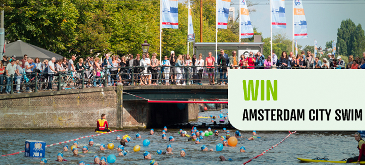 Win startbewijs Amsterdam City Swim