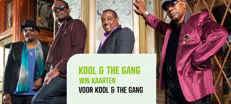 Win kaarten voor Kool & The Gang!