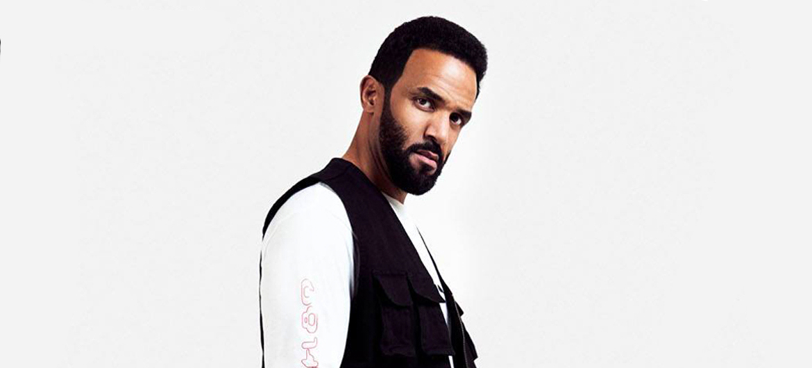 Craig David bouwt eigen party