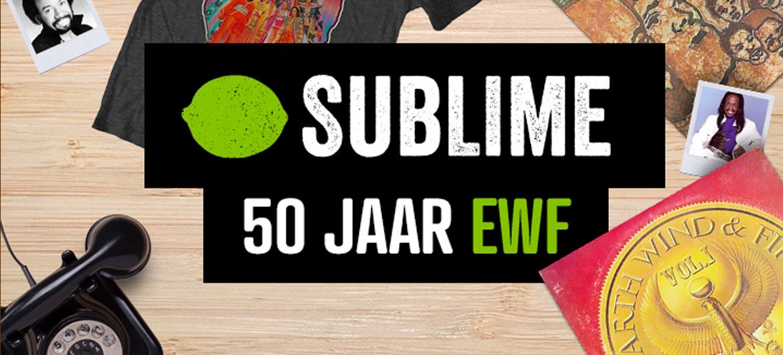 50 jaar Earth, Wind & Fire-special op Sublime