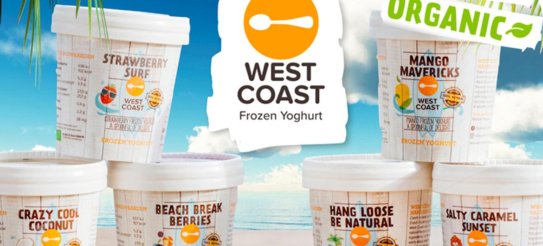 Een jaar lang West Coast Frozen Yoghurt!