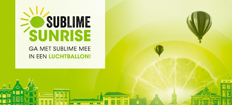 Met Sublime mee in luchtballon!