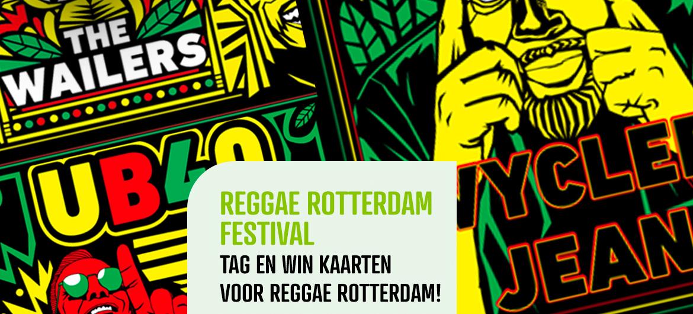 Win tickets Reggae Rotterdam Festival