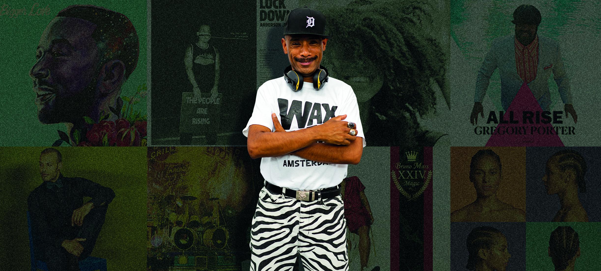 Dit zijn volgens DJ Rob Manga de 5 beste funk, soul & jazz platen ooit