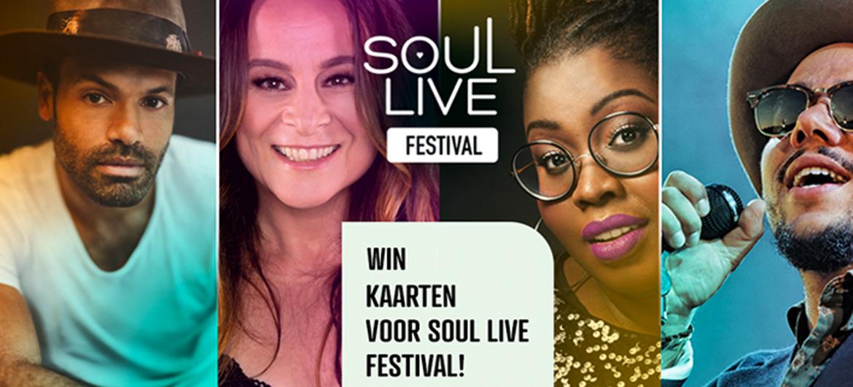 Win tickets voor Soul Live Festival