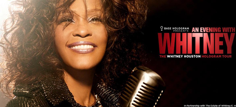 Hologramtoer Whitney Houston