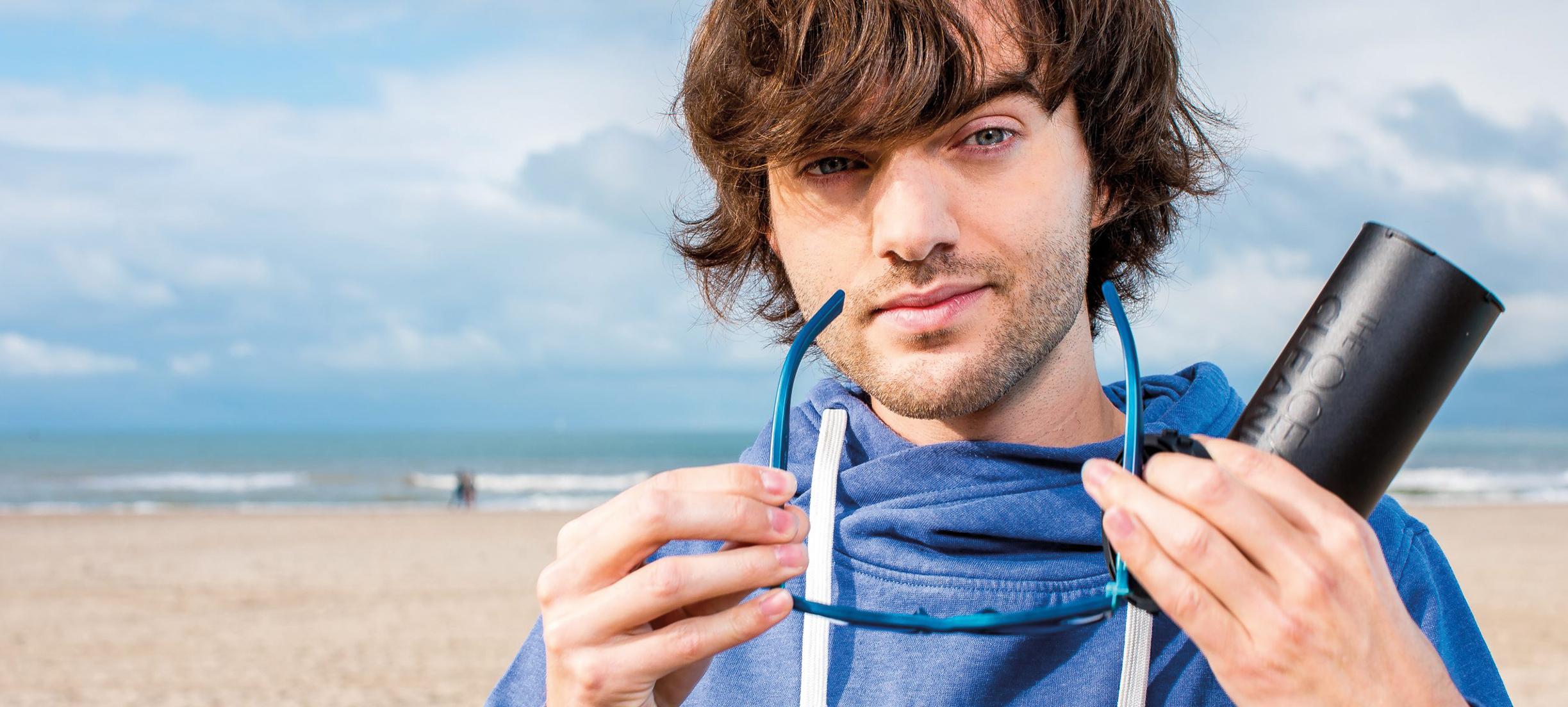 Boyan Slat lanceert eerste product van Ocean Cleanup-plastic