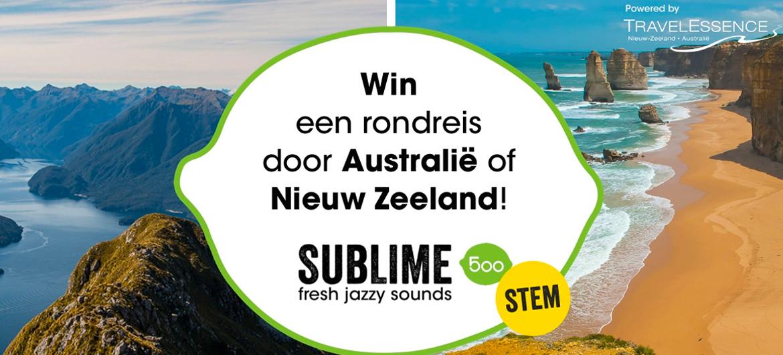Win rondreis Australië of Nieuw Zeeland!