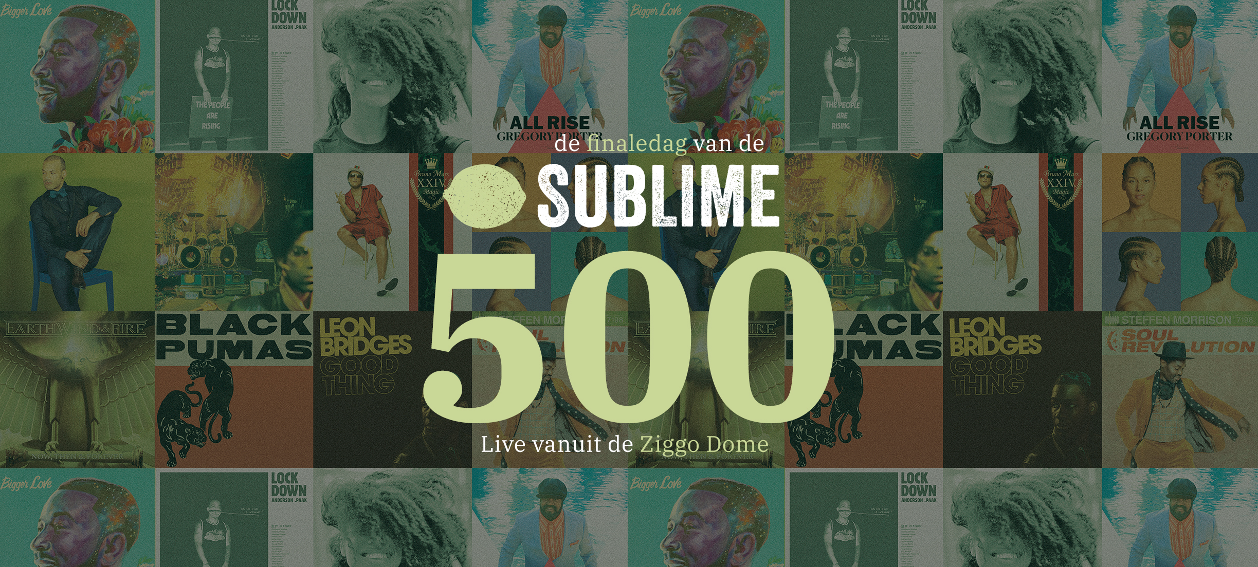 Spectaculaire finale Sublime 500 live vanuit Ziggo Dome