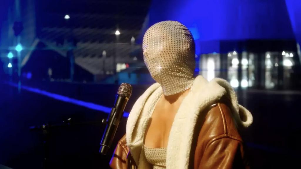 Alicia Keys MTV EMA face mask