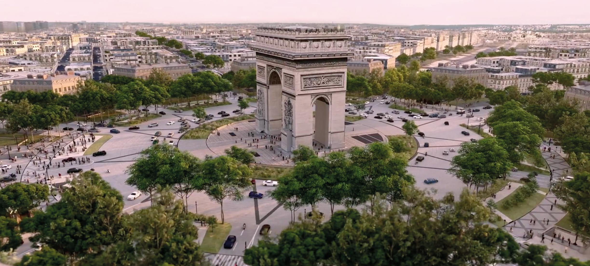 Parijse Champs-Élysées krijgt 'groene makeover'