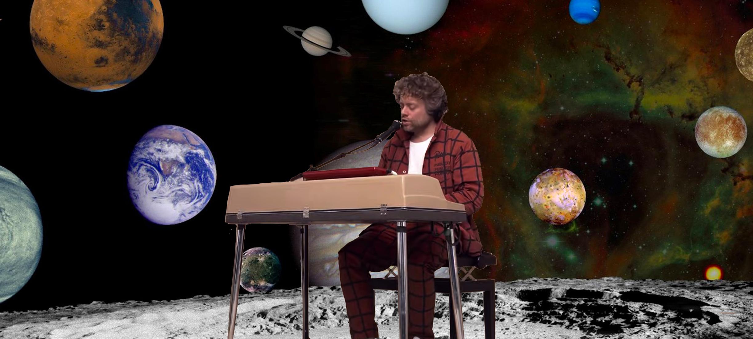 Benny Sings gaat de sterren van de hemel zingen in het Planetarium