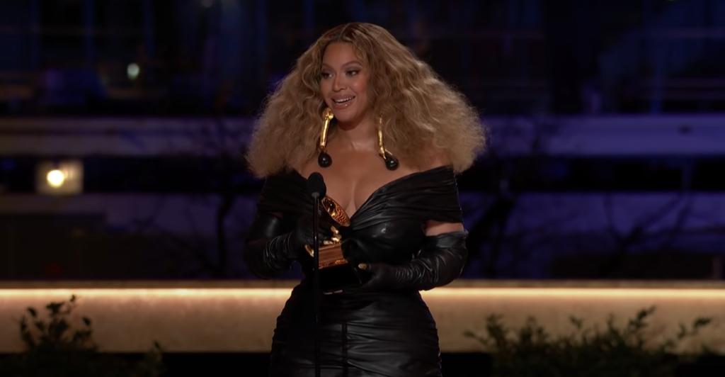 Grammy's 2021 Beyonce