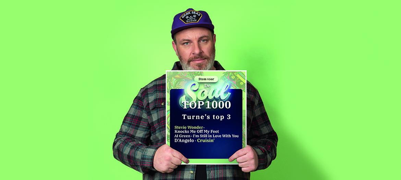 """Soul Top 3 van DJ Turne: """"D'Angelo raakte me als een vrachtwagen"""""""