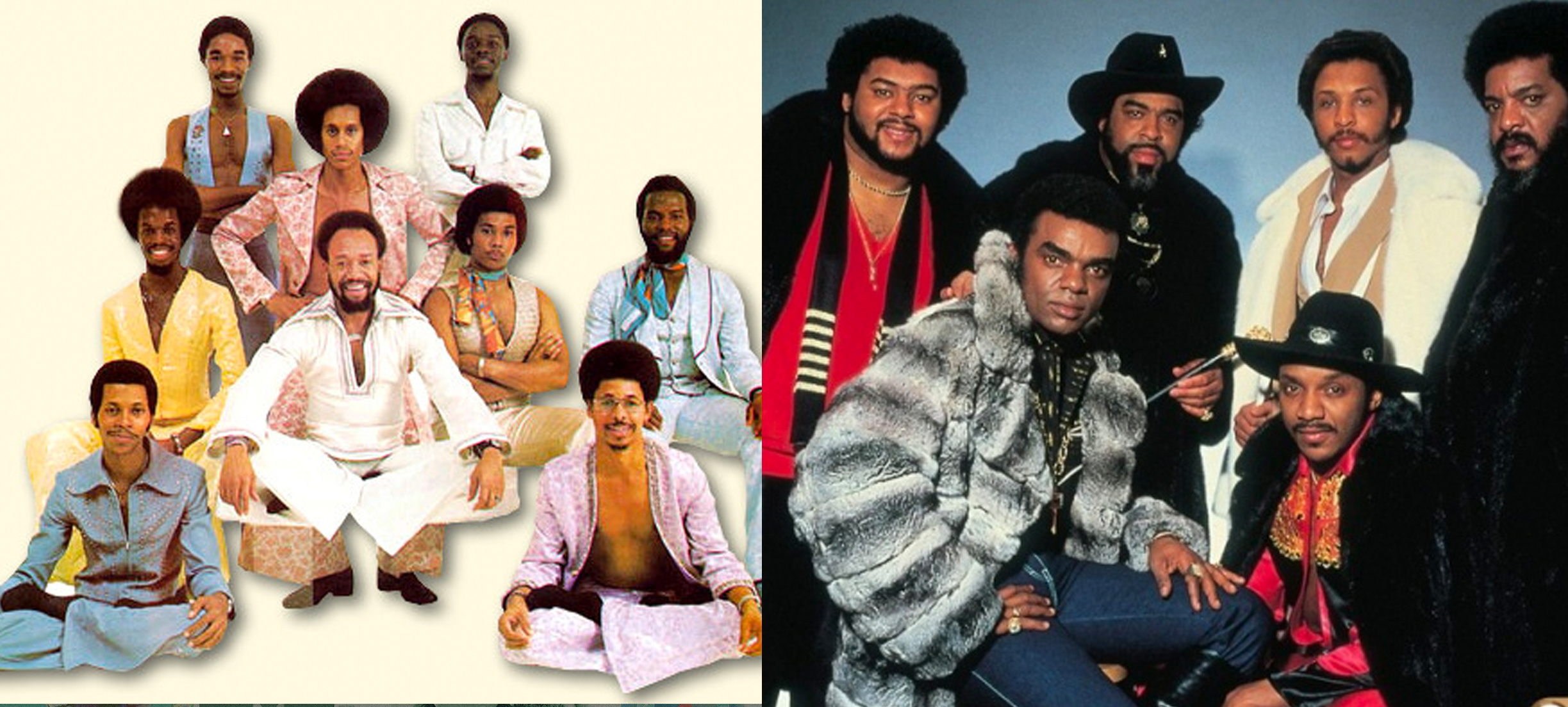 Epische battle: Earth, Wind & Fire versus The Isley Brothers