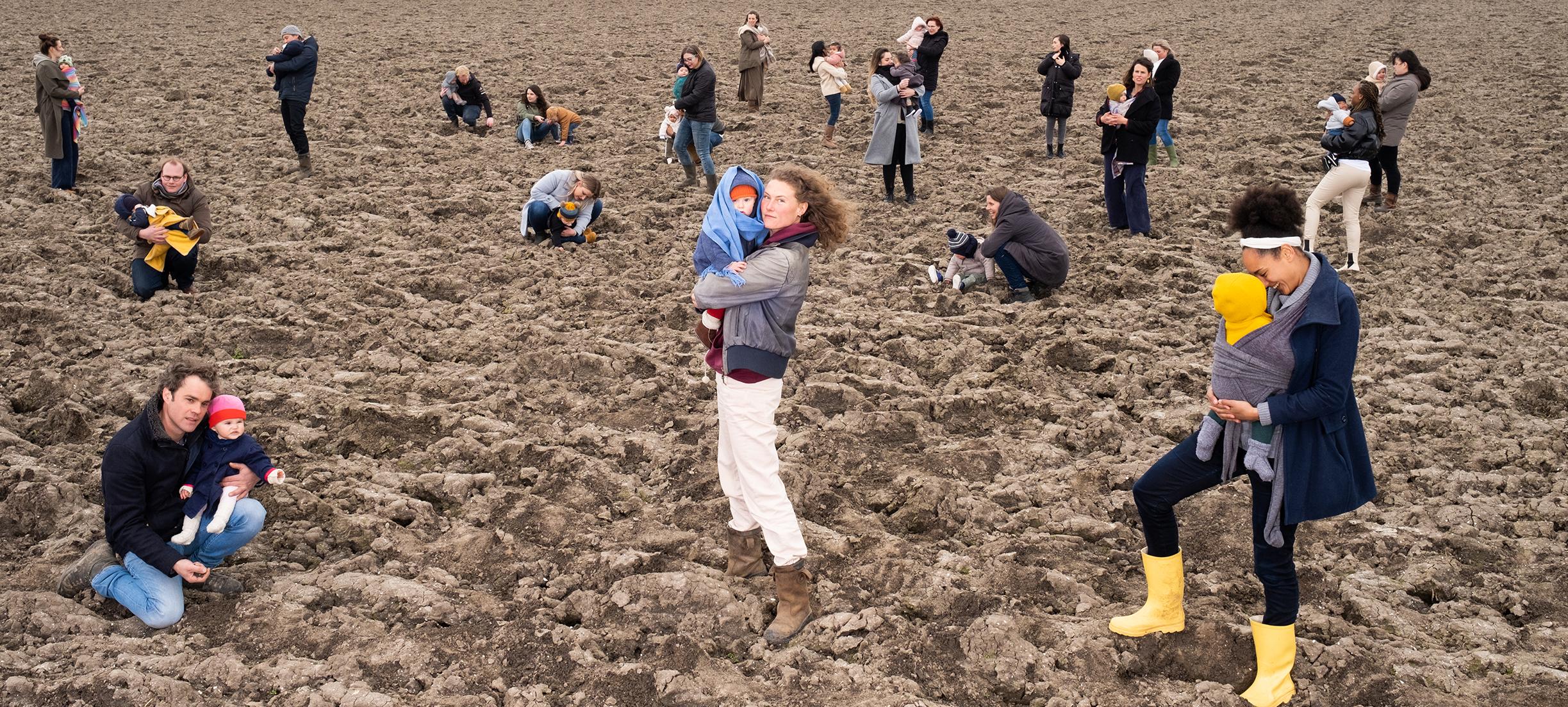 Tientallen organisaties (en baby's) pleiten voor een betere bodem